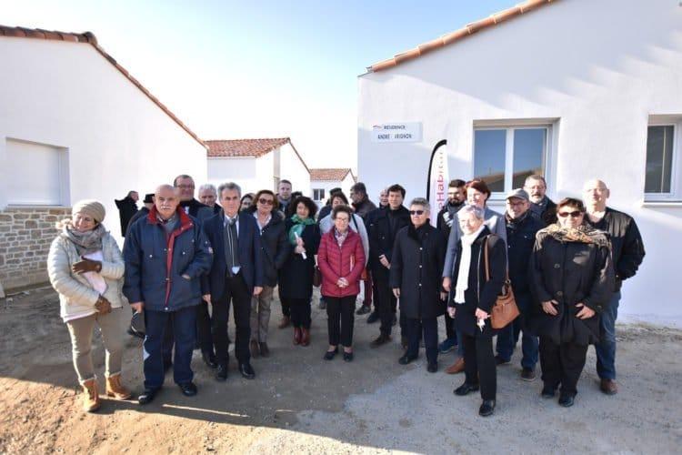Les nouveaux locataires de la résidence Alain VRIGNAUD à Saint Georges de Pointindoux