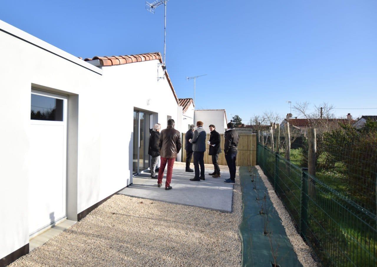 Remise de clés des logements locatifs à Saint-Georges-de-Pointindoux