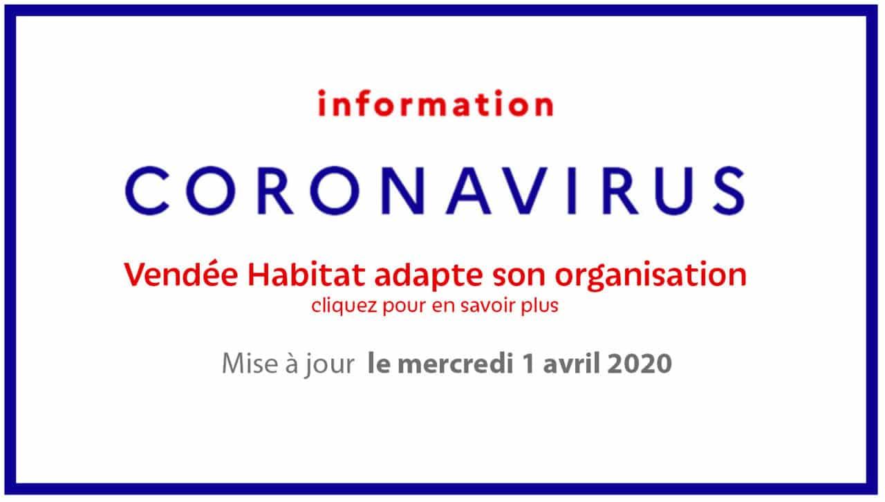 Coronavirus - Vendée Habitat adapte son organisation