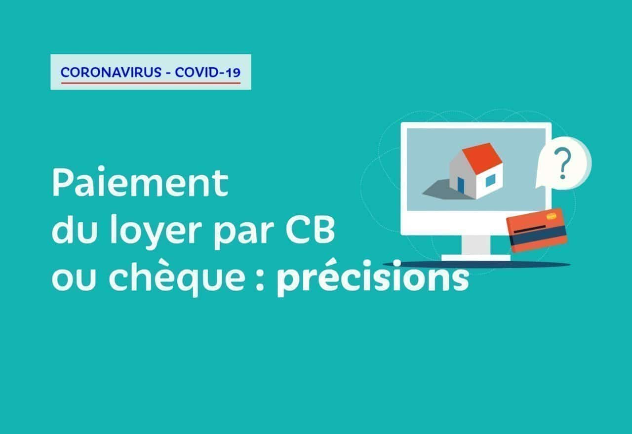 Covid-19 - Payer votre loyer depuis l'espace locataires