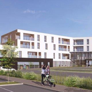 Montaigu-Vendée - le nouveau quartier des Hauts de Montaigu