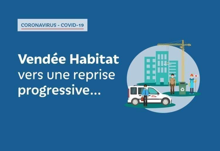 Vendée Habitat active son Plan de Reprise de l'Activité (PRA)
