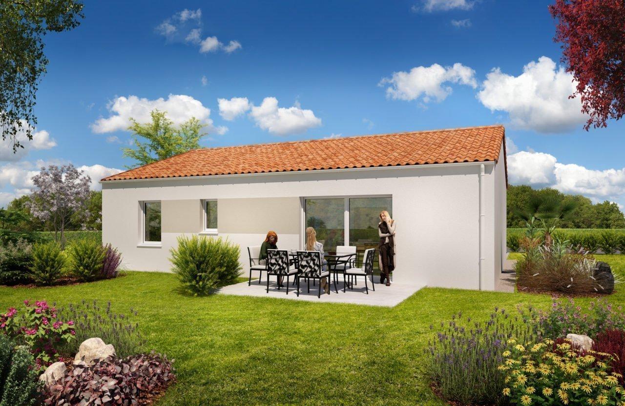 Construction de maison en Vendée - modèle Diamant de Vendée Habitat