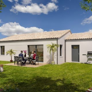 Construction de maisons en Vendée - modèle Nacre de Vendée Habitat