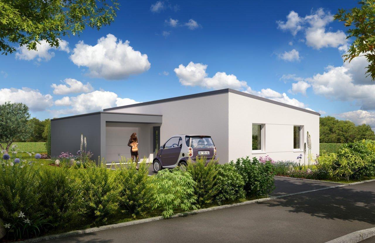 Construction de maison en Vendée - Modèle Saphir de Vendée Habitat