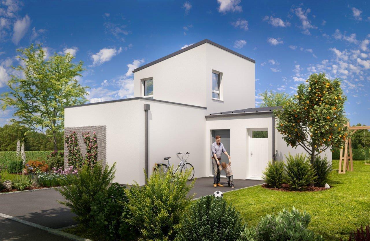 Construction de maison en Vendée - Modèle Grenat de Vendée Habitat