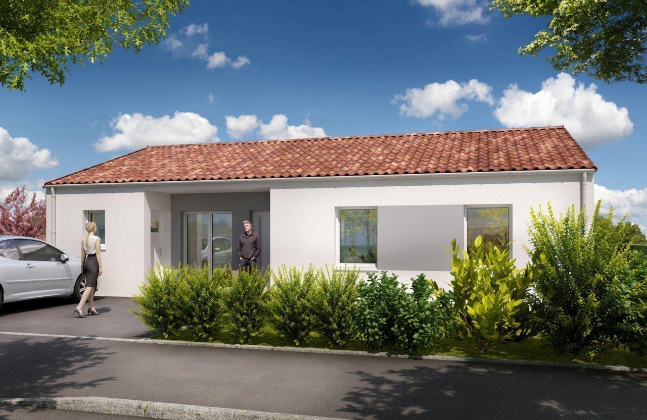 Construction de maison en Vendée - Modèle Onyx de Vendée Habitat