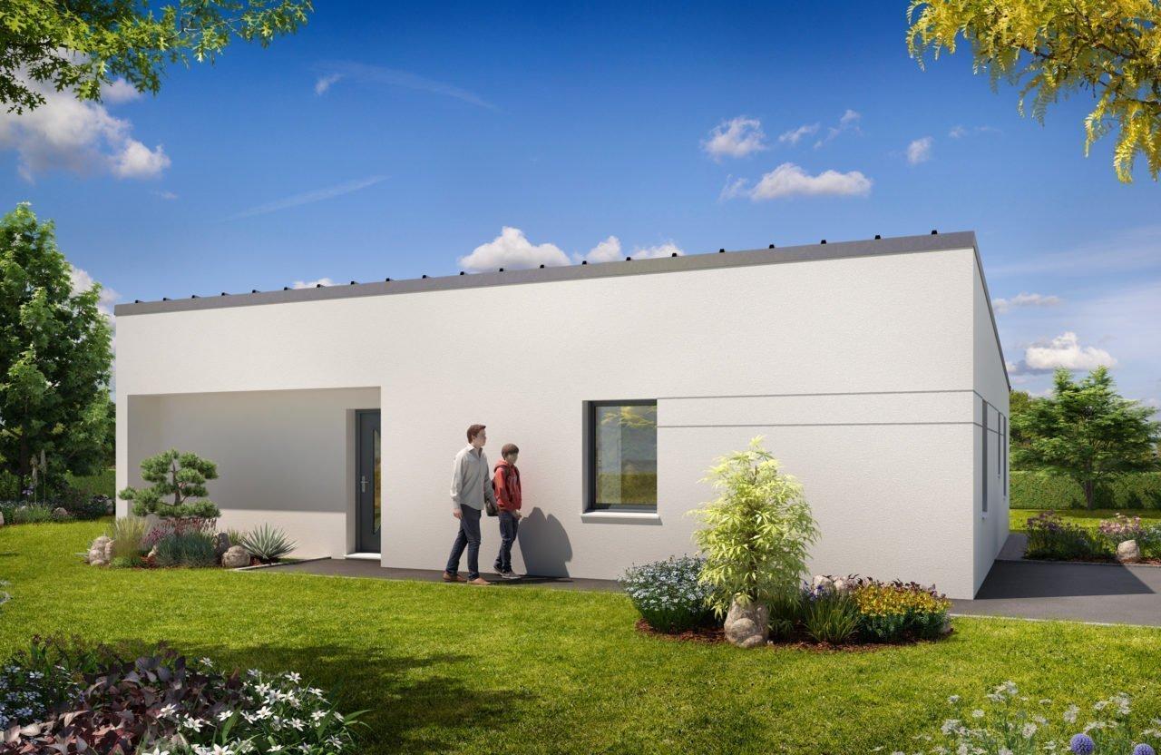Construction de maison en Vendée - Modèle Iris de Vendée Habitat