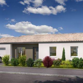 Construction de maison en Vendée - Modèle Rubis de Vendée Habitat