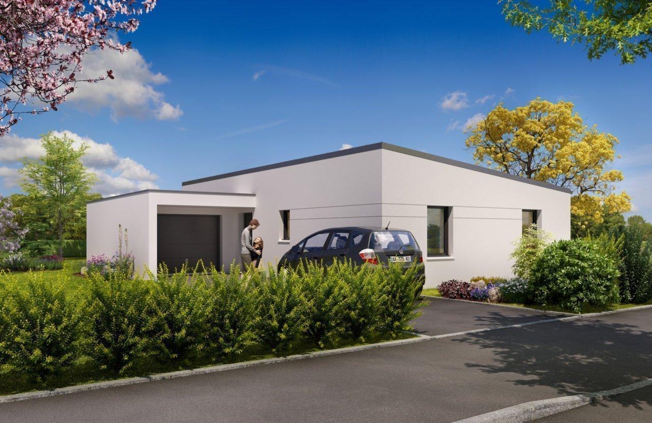 Construction de maison en Vendée - Modèle Turquoise de Vendée Habitat
