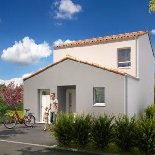 Constructiond de maison en Vendée - Modèle Azurite de Vendée Habitat