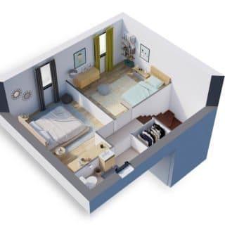 Construction de maison en Vendée - Modèle Ambre de Vendée Habitat