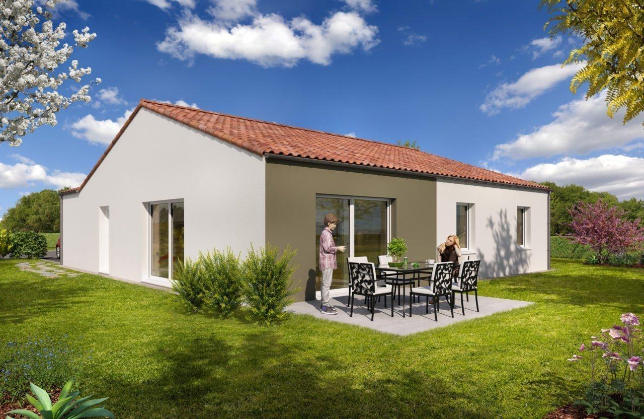 Construction de maisons en Vendée - Modèle Jade de Vendée Habitat