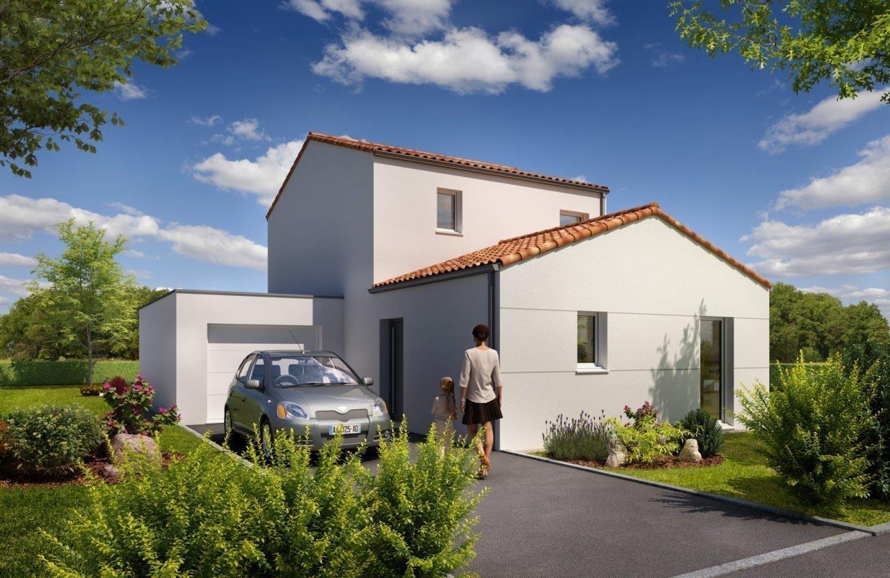 Construction de maison en Vendée - Modèle Agate de Vendée Habitat