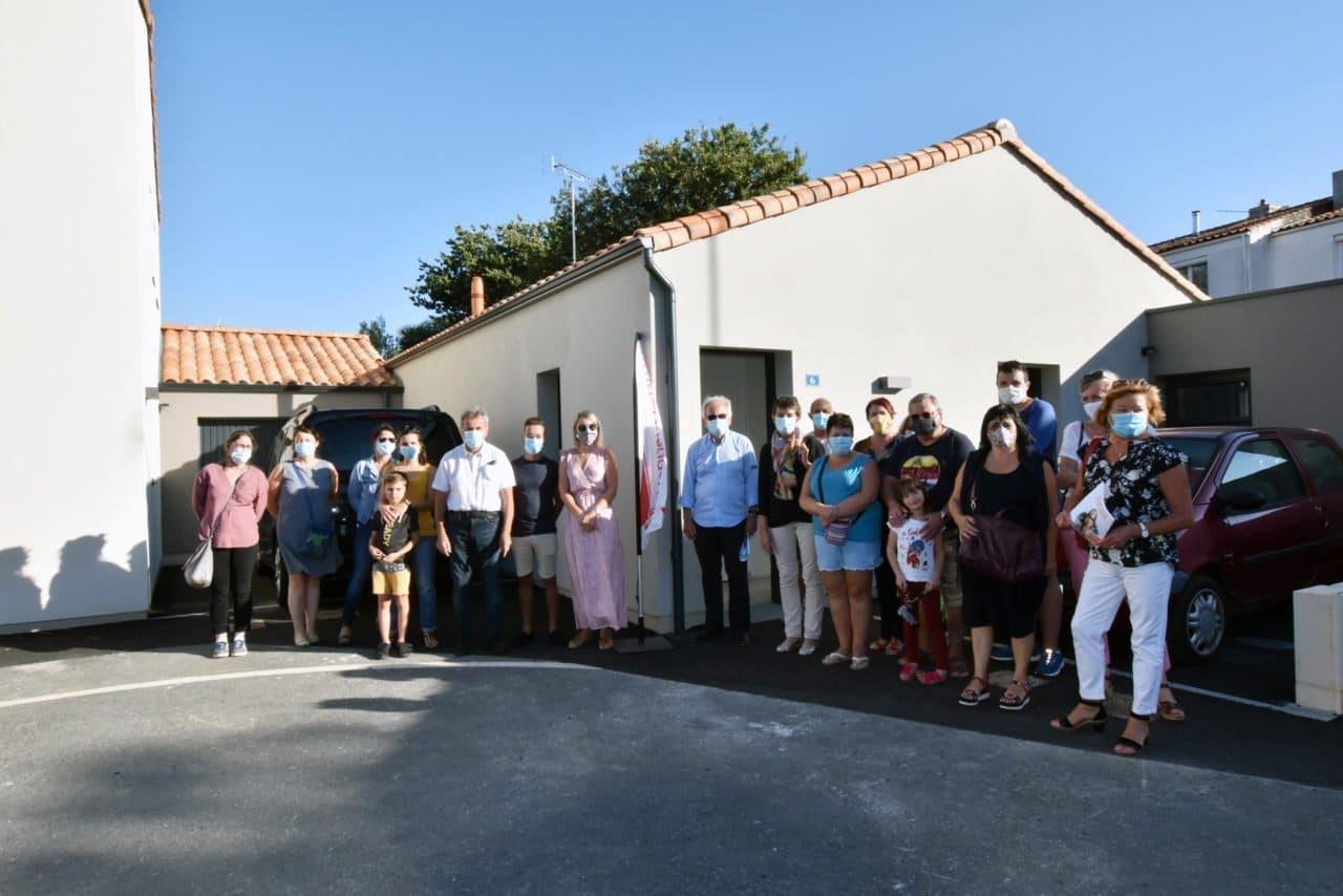 logements aux Sables d'Olonne - résidence Frédéric PASSY - remise de clés