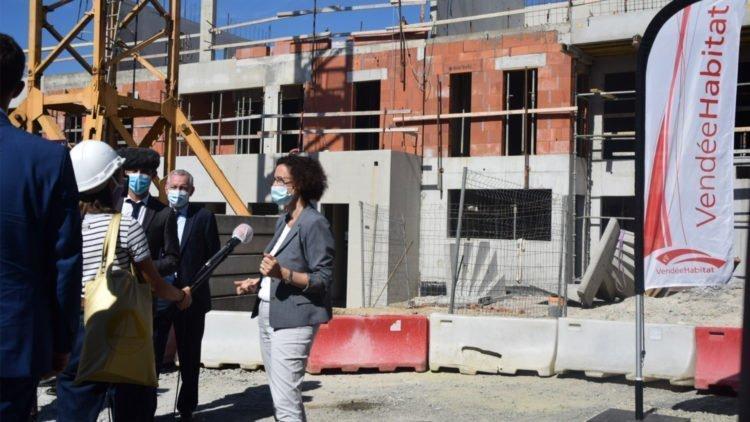 Ministre du Logement Emmanuelle Wargon en visite en Vendée