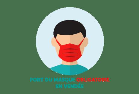 Covid-19 - Le port du masque est obligatoire en Vendée