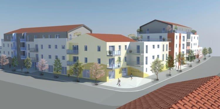 Plan de relance de Vendée Habitat - résidence Le Patio d'Henry à Saint Hilaire de Riez