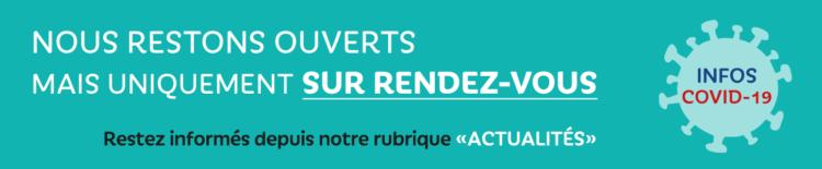 Covid-19 - Vendée Habitat ouvert uniquement sur rendez-vous
