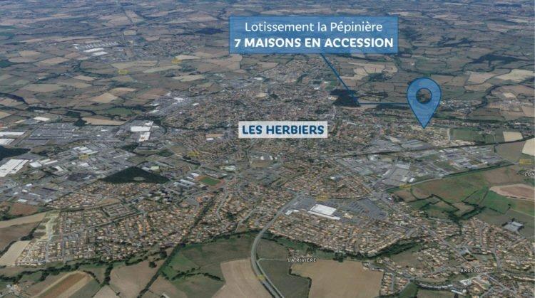 Logement aux Herbiers - programme d'accession à la propriété avec Vendée Habitat