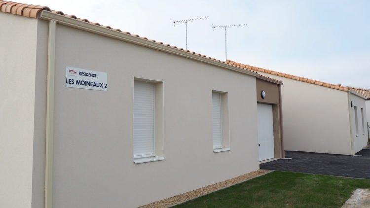 Vendée Habitat livre 4 logements aux Brouzils