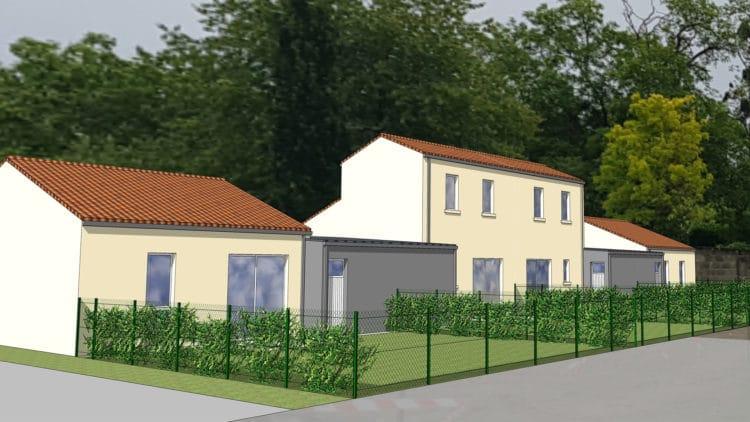 Futurs logements à Saint Hilaire de Voust