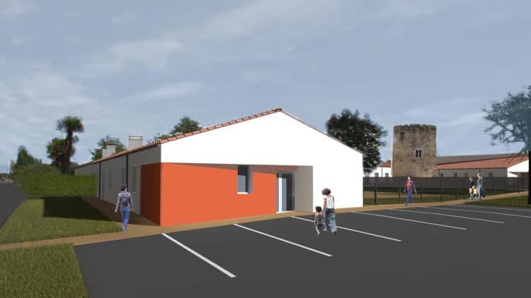 Micro-crèche à Saint-Mathurin