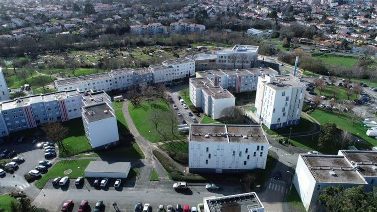 renouveau du quartier de la Vigne-aux-Roses à La Roche-sur-Yon