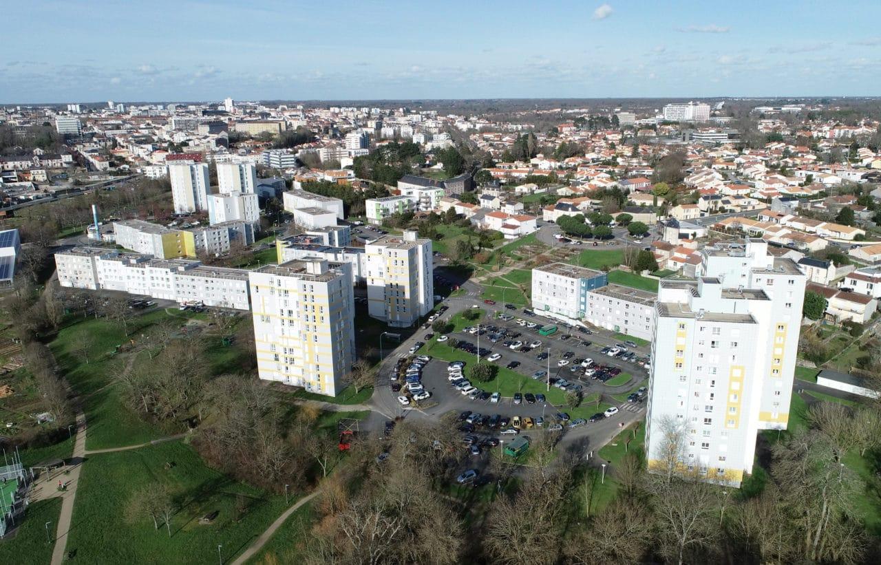 La Vigne aux Roses - grande réhabilitation à La Roche sur Yon engagée par Vendée Habitat