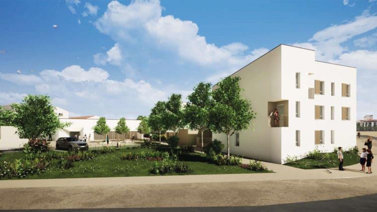 Vendée Habitat engage un important programme sur le secteur Pierrot Martin de Montaigu-Vendée : hôpital de jour, CMP et logements