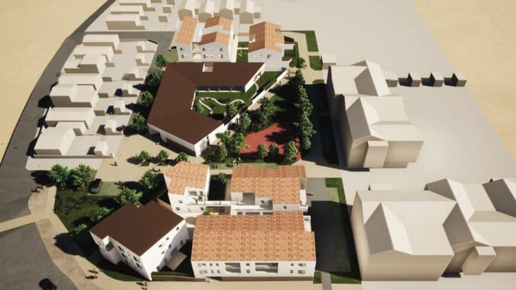 Un programme immobilier diversifié : hôpital de jour, CMP et logements à Montaigu-Vendée