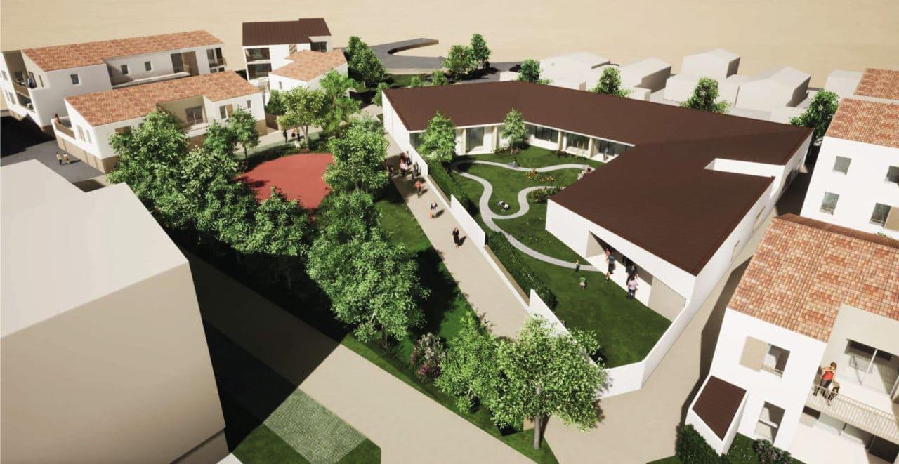 Hôpital de jour, CMP et logements à Montaigu-Vendée - lancement d'un programme important
