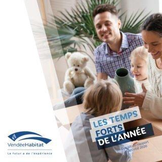 Rapport d'activité 2020 de Vendée Habitat